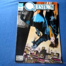 Cómics: COMIC DC ZINCO Nº 1 QUESTION BY O'NEILL COWAN Y MAGYAR 1987 J1. Lote 31127608