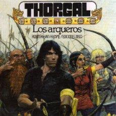 Cómics: THORGAL: LOS ARQUEROS (ROSINSKI - VAN HAMME) EDICIONES ZINCO - CJ125. Lote 31161508