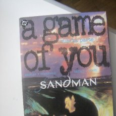 Cómics: SANDMAN. A GAME OF YOU. CUARTA PARTE. ZINCO, 1993.. Lote 31264033