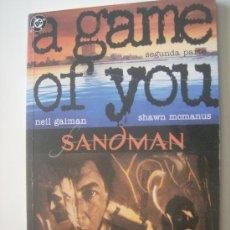 Cómics: SANDMAN. A GAME OF YOU. SEGUNDA PARTE. ZINCO, 1993.. Lote 31264065