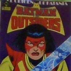 Cómics: BATMAN Y LOS OUTSIDERS Nº 8 EL ORIGEN DE KATANA. Lote 103482468