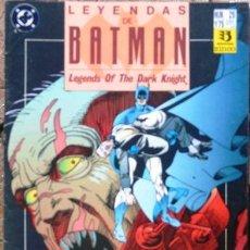 LEYENDAS DE BATMAN # 25 - 1991 - VOLADOR - ZINCO - 34 PAG - POR CHAYKIN & KANE - JOYA DE COLECCION