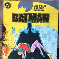 Cómics: BATMAN # 12 - AÑO 1987 - ZINCO - POR BARR & DAVIS - EL ORIGEN DE BATMAN (COMPLETA) - 34 P - JOYA. Lote 31521024