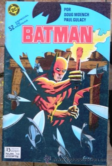BATMAN # 13 - AÑO 1987 - ZINCO - POR DOUG MOENCH & GULACY - EL COSACO NEGRO (COMPLETA) - 52 P - JOYA (Tebeos y Comics - Zinco - Batman)