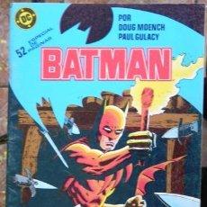 Comics: BATMAN # 13 - AÑO 1987 - ZINCO - POR DOUG MOENCH & GULACY - EL COSACO NEGRO (COMPLETA) - 52 P - JOYA. Lote 31521028