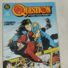 Cómics: QUESTION Nº 3 COMICS DC ZINCO 150 PTAS. Lote 29999521