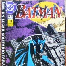 Cómics: BATMAN # 39 - AÑO 1989 - ZINCO - POR MARV WOLFMAN & PEREZ - UN LUGAR SOLITARIO PARA MORIR - 26 P. Lote 31537776
