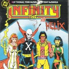 Cómics: 1 COMIC AÑO 1986 - Nº 12 - INFINITY INC US HELIX - ( EDITA ZINCO EDICIONES ). Lote 31555194