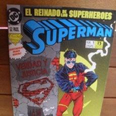 Cómics: SUPERMAN Nº 1. VOL. 3. DC COMICS. EDICIONES ZINCO. . Lote 31589732