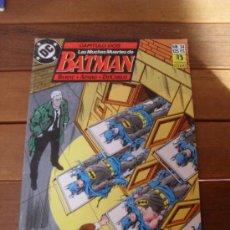 Cómics: LAS MUCHAS MUERTES DE BATMAN Nº 34. CAPITULO DOS. EDICIONES ZINCO. DC COMICS.. Lote 31590047