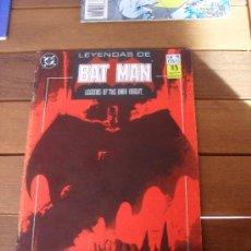 Cómics: LEYENDAS DE BATMAN Nº 11. PRESA. CAPITULO PRIMERO. EDICIONES ZINCO. DC COMICS.. Lote 31590179