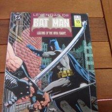 Cómics: LEYENDAS DE BATMAN Nº 15. PRESA. CAPITULO QUINTO. EDICIONES ZINCO. DC COMICS.. Lote 31590194