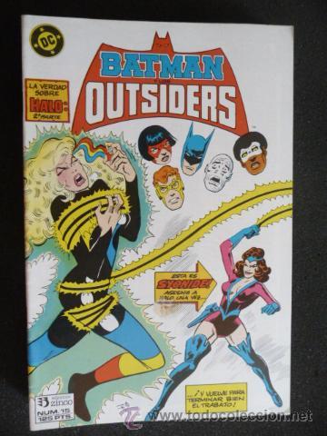 BATMAN Y LOS OUTSIDERS. Nº 15. ZINCO (Tebeos y Comics - Zinco - Outsider)