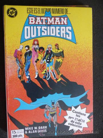 Cómics: BATMAN Y LOS OUTSIDERS. TOMO DEL 21 AL 24. ZINCO - Foto 1 - 31622613