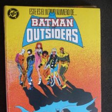 Cómics: BATMAN Y LOS OUTSIDERS. TOMO DEL 21 AL 24. ZINCO. Lote 31622613