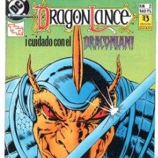 Cómics: DRANGON LANCE, Nº 2, EDICIONES ZINCO. Lote 31691420