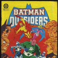 Cómics: - BATMAN OUTSIDERS LA EJECUCION DE RAYO NEGRO DC 1.986 N.º 7 - EDICIONES ZINCO. Lote 31999623