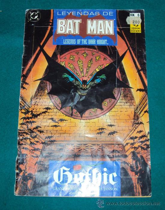 LEYENDAS DE BATMAN Nº 6 (Tebeos y Comics - Zinco - Batman)