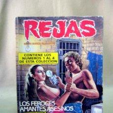 Cómics: COMIC, REJAS, TOMO 4, Nº 1 AL 4, ZINCO. Lote 32261376