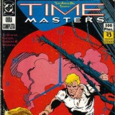 Cómics: TIME MASTERS DEL Nº 1 AL Nº 8 (OBRA COMPLETA). Lote 32319482