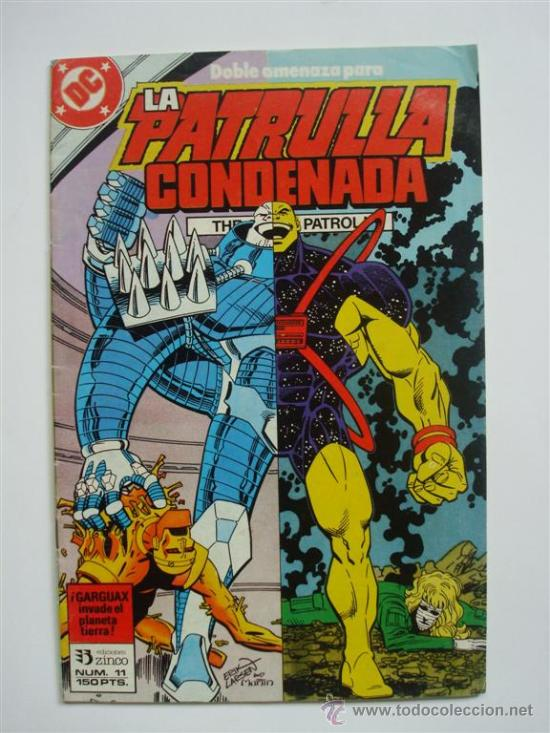 LA PATRULLA CONDENADA Nº 11 (DOOM PATROL) - DC (ZINCO) (Tebeos y Comics - Zinco - Patrulla Condenada)