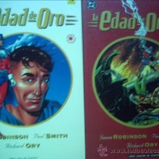 Cómics: LA EDAD DE ORO. SERIE COMPLETA. 4 PRESTIGIOS. Lote 32554773