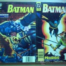 Cómics: BATMAN . PRODIGO. SERIE COMPLETA. DOS TOMOS. Lote 32554973
