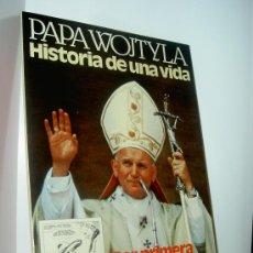 Cómics: PAPA WOJTYLA. HISTORIA DE UNA VIDA - CURIOSO COMIC DE EDICIONES ZINCO, 1982. B/N, 98 PÁGS.. Lote 32643482