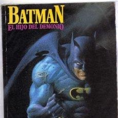 Cómics: TOMO BATMAN EL HIJO DEL DEMONIO MIKE W. BARR Y JERRY BINGHAM. Lote 32710319