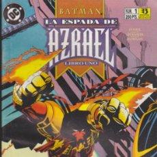 Cómics: BATMAN. LA ESPADA DE AZRAEL Nº 1.. Lote 32750447