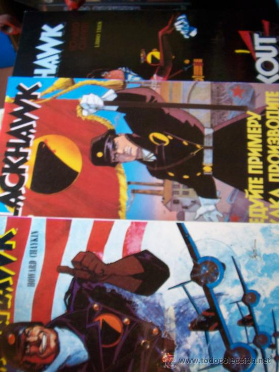 BLACKHAWK - COLECCIÓN COMPLETA DEL 1 AL 3 HOWARD CHAYKIN - EDICIONES ZINCO (Tebeos y Comics - Zinco - Prestiges y Tomos)