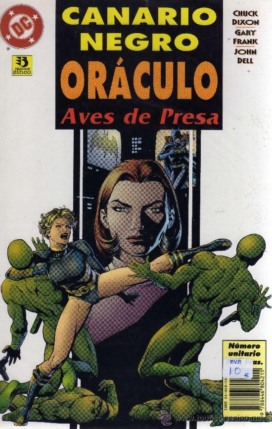 CANARIO NEGRO/ ORÁCULO: AVES DE PRESA - CJ88 (Tebeos y Comics - Zinco - Otros)