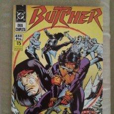 Cómics: BUTCHER - DC COMICS - NUMEROS 1 AL 5 COMPLETA - RETAPADO. Lote 32799969
