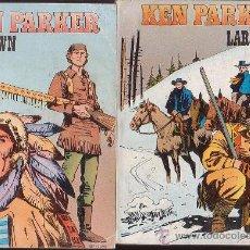 Cómics: KEN PARKER , LOTE DE 9 EJEMPLARES ( Nº 1, 2, 3, 4, 6, 7, 8, 12, 13, ). Lote 32805536