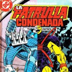 Cómics: LA PATRULLA CONDENADA--DC--ZINCO-- Nº 11. Lote 32840977
