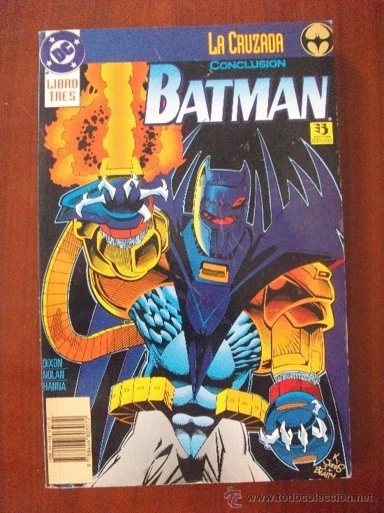BATMAN LA CRUZADA CONCLUSION EDICIONES ZINCO (Tebeos y Comics - Zinco - Prestiges y Tomos)