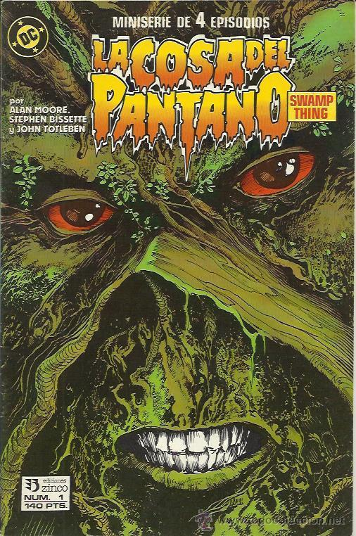 LA COSA DEL PANTANO 2ªSERIE - MINISERIE (ZINCO) ORIGINAL 1988 COMPLETO (Tebeos y Comics - Zinco - Cosa del Pantano)