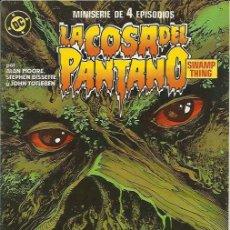 Cómics: LA COSA DEL PANTANO 2ªSERIE - MINISERIE (ZINCO) ORIGINAL 1988 COMPLETO. Lote 32956886