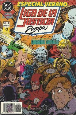 LIGA DE LA JUSTICIA - INTERNACIONAL - AMERICA (ZINCO) 1988 - 1993 LOTE (Tebeos y Comics - Zinco - Liga de la Justicia)