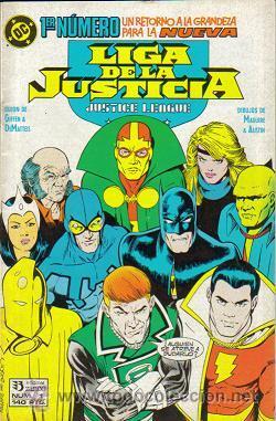 Cómics: LIGA DE LA JUSTICIA - INTERNACIONAL - AMERICA (ZINCO) 1988 - 1993 LOTE - Foto 2 - 33040501