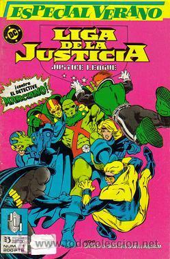 Cómics: LIGA DE LA JUSTICIA - INTERNACIONAL - AMERICA (ZINCO) 1988 - 1993 LOTE - Foto 3 - 33040501