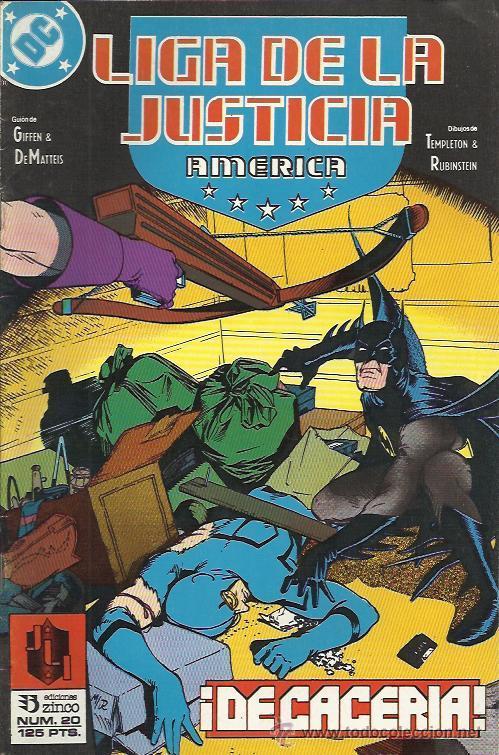 Cómics: LIGA DE LA JUSTICIA - INTERNACIONAL - AMERICA (ZINCO) 1988 - 1993 LOTE - Foto 5 - 33040501