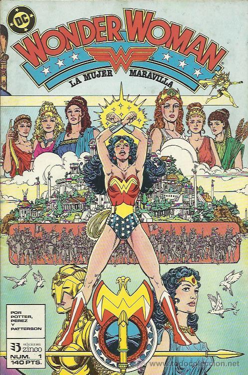 WONDER WOMAN ( ZINCO ) ORIGINAL 1988 LOTE (Tebeos y Comics - Zinco - Otros)