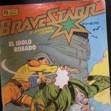 Cómics: BRAVESTAR EL JUSTICIERO CÓMICO Nº 3 EL IDOLO ROBADO EDICIONES ZINCO. Lote 33115619