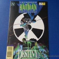 Cómics: LEYENDAS DE BATMAN--DC--ZINCO--NUM. 36 . Lote 33172683