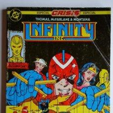 Comics: INFINITY INC Nº 12 AL 16 - DC (ZINCO). Lote 33166404