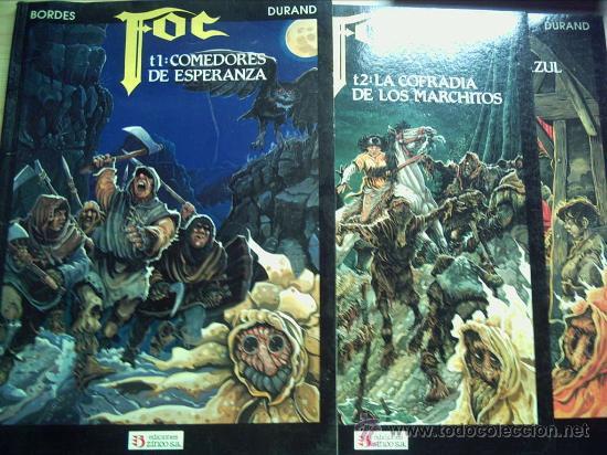 FOC, COMEDORES DE ESPERANZA. SERIE COMPLETA. 3 TOMOS. (Tebeos y Comics - Zinco - Prestiges y Tomos)