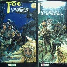 Cómics: FOC, COMEDORES DE ESPERANZA. SERIE COMPLETA. 3 TOMOS.. Lote 33302666