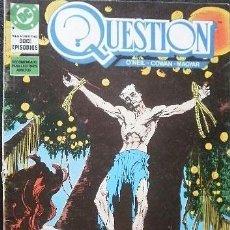 Cómics: QUESTION Nº 9 O'NEIL & COWAN & MAGYAR DC COMICS - EDICIONES ZINCO. Lote 33342950