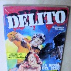 Cómics: DELITO 1 2 3 4 5 6 7 (EN 1 RETAPADO) COMPLETA - ZINCO 1988 - EROTICO, RELATOS GRÁFICOS PARA ADULTOS. Lote 33412585
